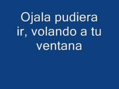 Fondo flamenco, letra de Ojala