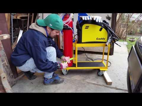 DIY welding cart