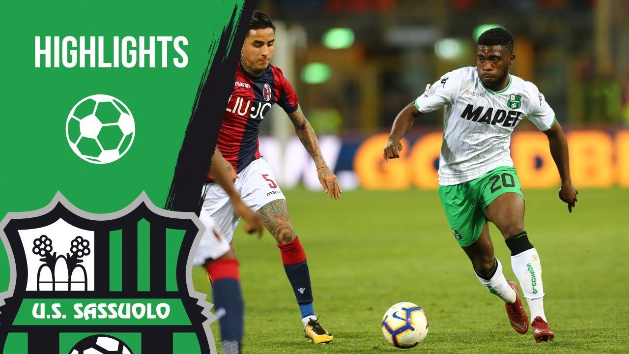 Bologna Sassuolo 2 1 Highlights 2018 19 Youtube