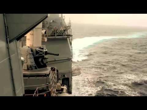 LIVE FIRE Ticonderoga-class guided-missile cruiser