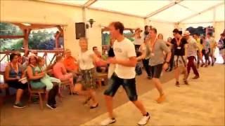 ŚDM Bełchatów - Francja: Taniec belgijka