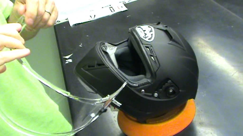 Adjusting An Airoh Gp500 Visor Youtube