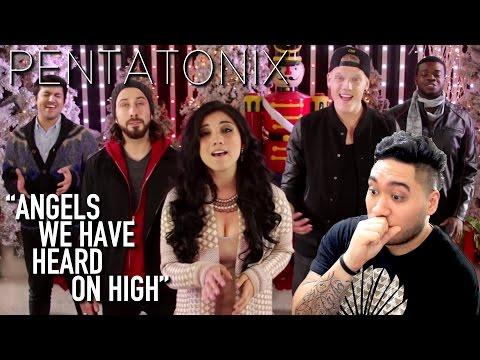 Pentatonix - Angels We Have Heard On High REACTION!!!