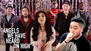 Pentatonix - Angels We Have Heard On High REACTION!!!