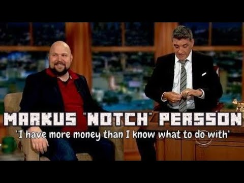 Markus Persson - The Creator Of Minecraft