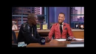 Conor Mcgregor Loses Control And Fights Floyd In Interview!!