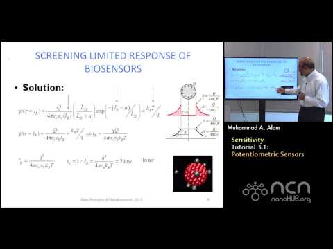 nanoHUB-U Nanobiosensors T3.1: Sensitivity - Homework Solution III (Potentiometric)