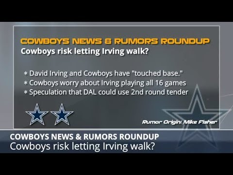 Dallas Cowboys Rumors: Latest On David Irving, Dak Prescott, Kellen Moore And La