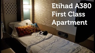Best Flight Ever!  Etihad First Class Apartment A380