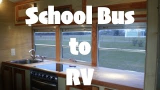School Bus Converted into Luxury RV - Good News Bus