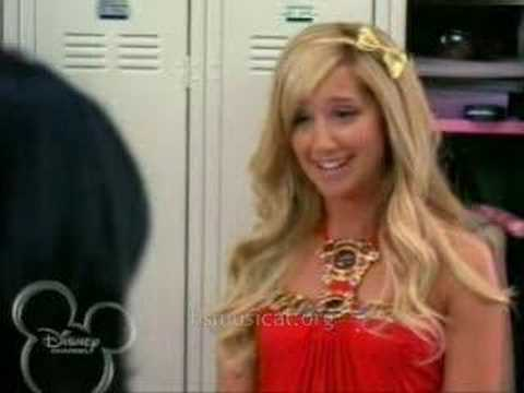 Sharpay and Gabriella: Locker Scene