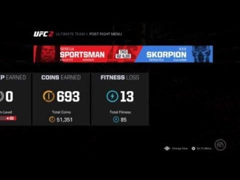 EA SPORTS™ UFC® 2 Проважаем в мир пк))