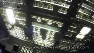 La cabina del Space Shuttle