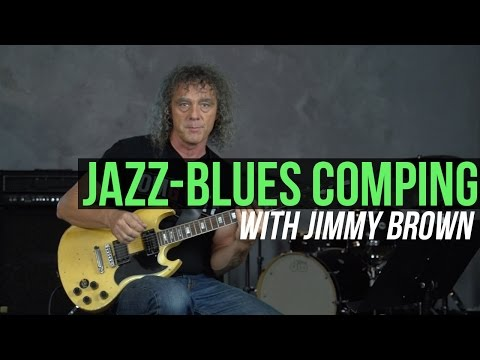 Jazz-Blues Comping Lesson and