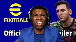 eFOOTBALL PES2022 OFFICIAL REVEAL TRAILER [REACTIO