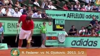 Top 5 Ballwechsel in der Geschichte von den french open (tennis) + unglaublicher Punkt von monfils