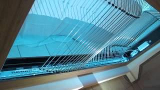 The Mechanical Ocean Wave Simulator, Ciboure 2013 / Matthieu Schönholzer / Kinetica Art Fair