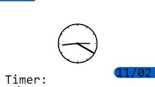 Snap! Coding - Clock V2
