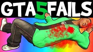 GTA 5 FAILS – EP. 12 (Funny moments compilation online Grand theft Auto V Gameplay)