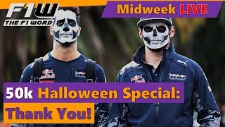 Midweek Live: 50k Subscriber And Halloween Special