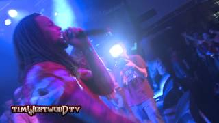 Westwood - Waka Flocka Flame LIVE in London Kid gets thrown out then ends up on stage