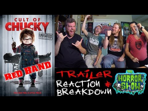 """Cult of Chucky"" 2017 Red Band Trailer #1 Reaction – RE-UPLOAD – The Horror Show"