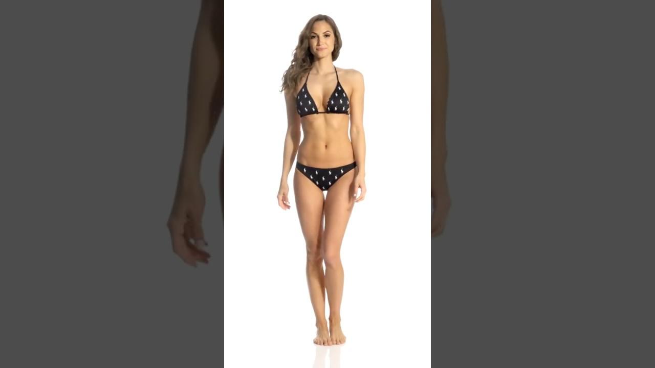 542a669e Polo Ralph Lauren Icon Mix Reversible Triangle Bikini Top | SwimOutlet.com