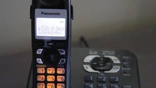 Panasonic Talking CallerID Saying Dumb Things