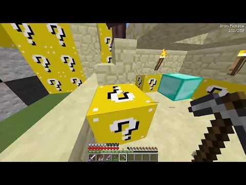 NOOB VS ŞANS BLOK İNEK! - Minecraft