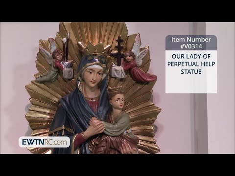 V0314_OUR LADY OF PERPETUAL HELP STATUE