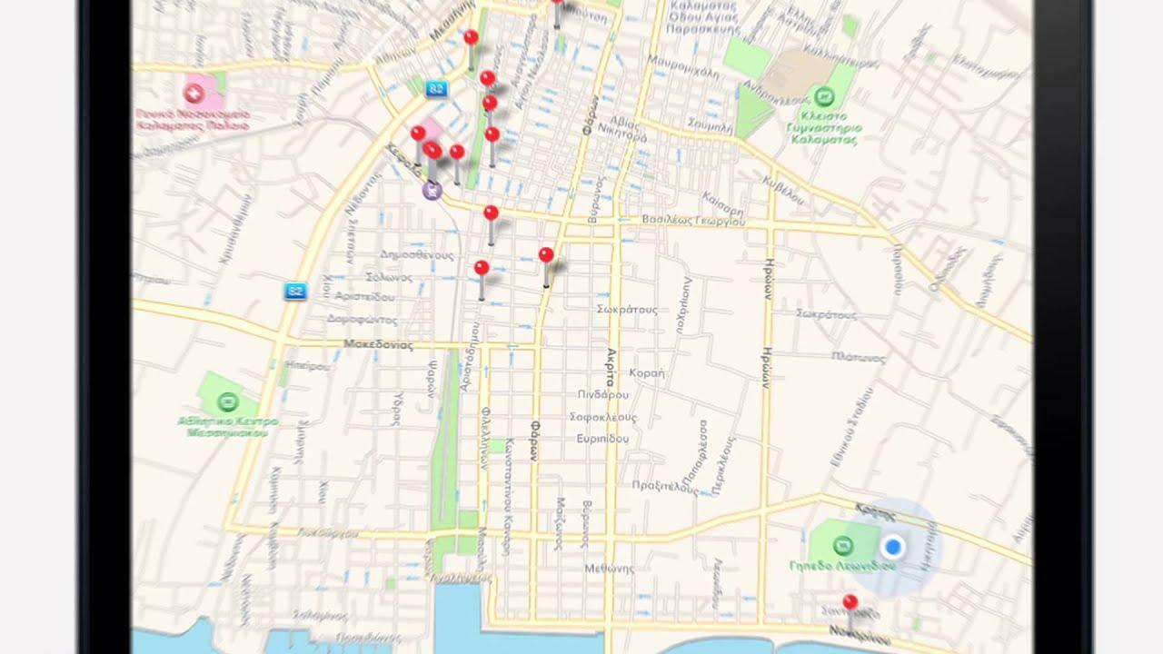 Kalamata City Guide Map Teaser YouTube