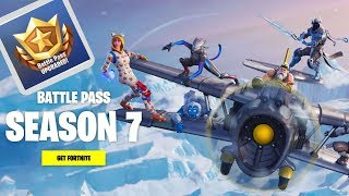 *NEW* What will you get at fortnite season 7 battle pass