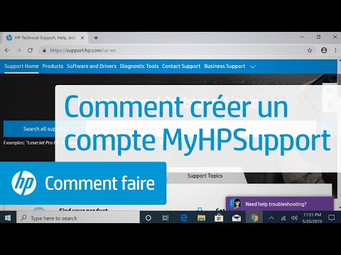 Comment Créer Un Compte MyHPSupport | Assistance HP | HP