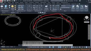 Видеоуроки по AutoCAD 2020: 3D команда тор