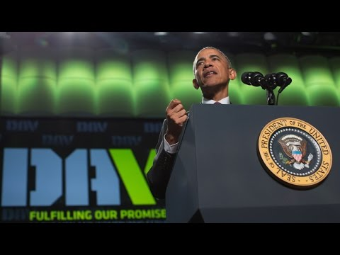 President Obama speaks at the 2016 DAV National Convention