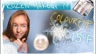 Full Face with FROZEN MAKEUP