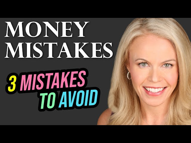 3 Money Mistakes to AVOID: Retirement Edition