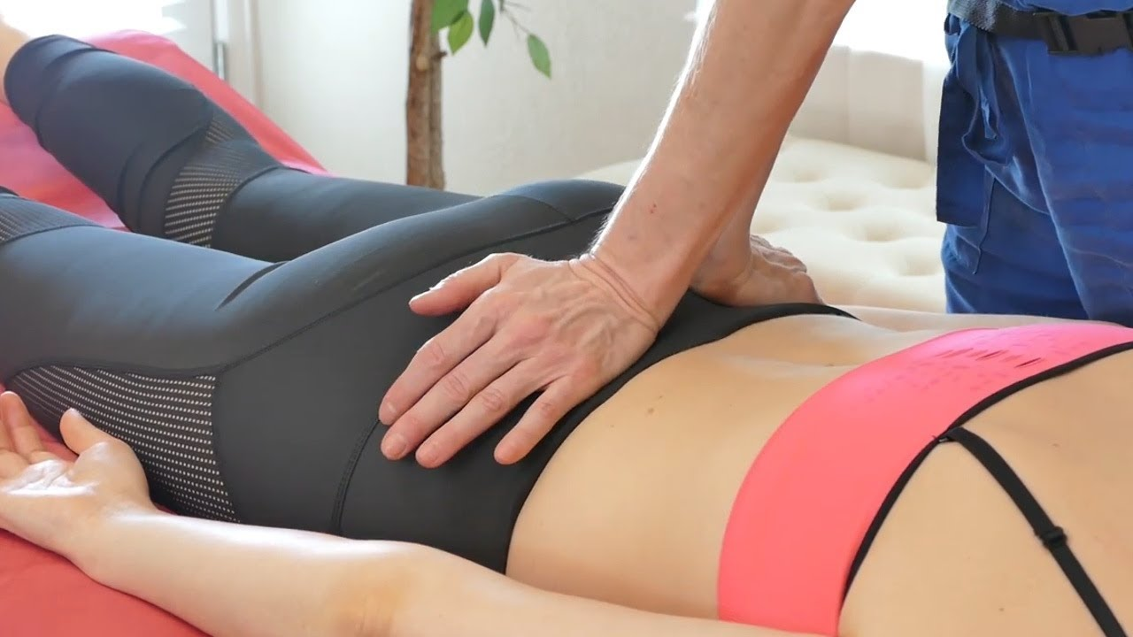Acupressure Points for Low Back Pain & Moon Cycle, How to Massage the  Sacrum with Jade