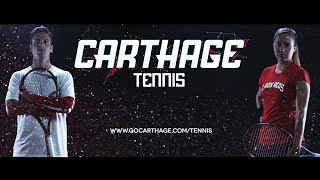 Carthage College Men's & Women's Tennis Feature Video