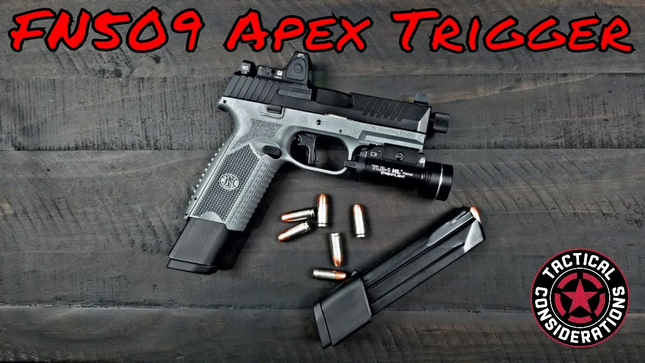Apex FN 509 Tactical Ultimate Flat Trigger