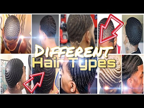 "360 Waves : ""Different Hair Types"" (All Wavers Must Know This!!!) HD 2018"