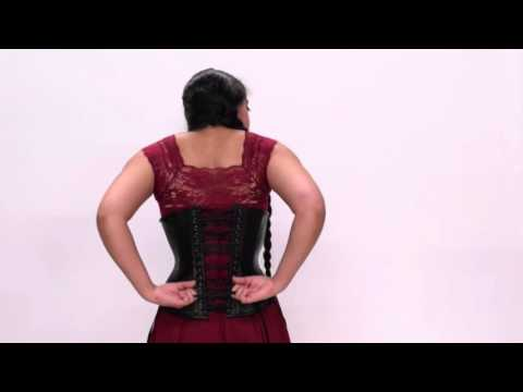 How To Wear And Lace A Corset By Yourself