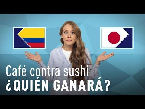 Café contra sushi: ¿Quién se llevará la victoria en el Colombia-Japón