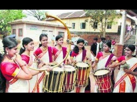 Kerala Chenda Melam Dance In Thirunallar