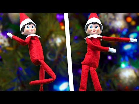 Elf on the Shelf does Fortnite Dances