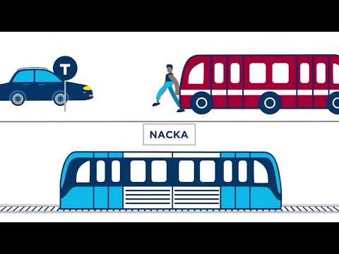Nya tunnelbanan - Nacka