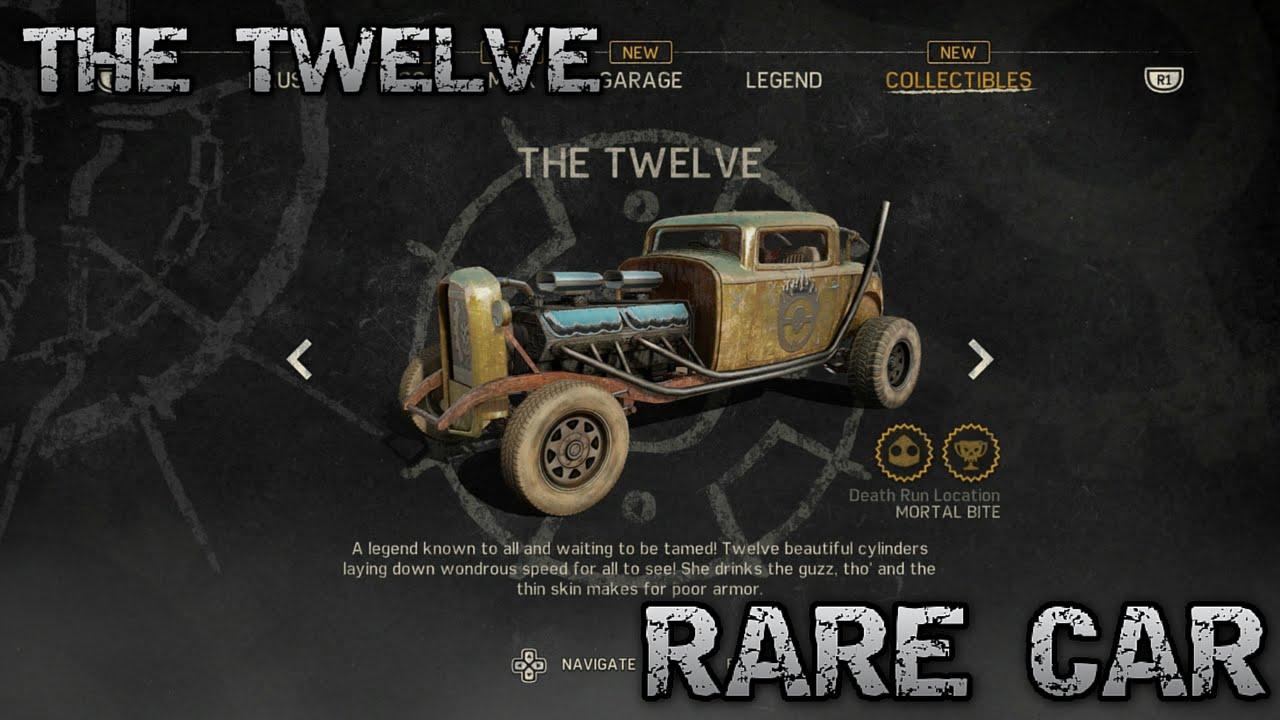 Mad Max Rare Car The Twelve Location Youtube