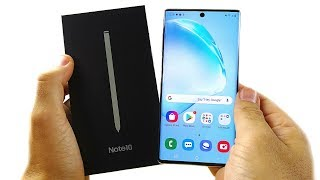 Samsung Galaxy Note 10:  Unboxing!