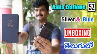 Asus Zenfone 5Z (Silver & Blue) Unboxing & intial impressions ll in telugu ll