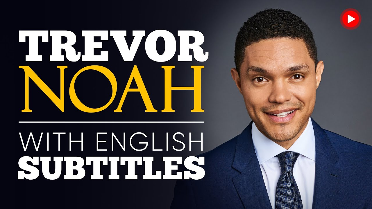 ENGLISH SPEECH | TREVOR NOAH: The Power of Information (English Subtitles)